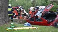 Najprawdopodobniej chwila nieuwagi spowodowała śmiertelny wypadek koło ZG Lubin. Mimo trwającej ponad 30 minut reanimacji mężczyźnie nie można było już pomóc.