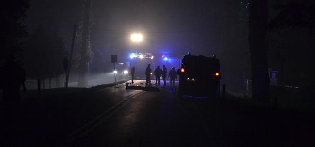 To kolejny tragiczny wypadek na drodze K36 za Ścinawą w kierunku Rawicza – śmierć dwóch pieszych pod Iwnem.