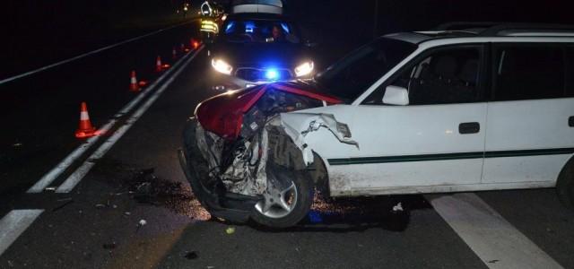 Rozbiciem samochodu na drodze nr 36 w Miłosnej zakończyła się jazda po pijaku.