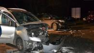 Honda najprawdopodobniej wyleciała z zakrętu. To może być wstępna przyczyna wypadku z powodu zderzenia przy moście.