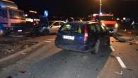 Kolejne zderzenie pod Castoramą w Lubinie. Jeden z kierowców trafił do szpitala.