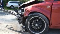 Zderzenie na Katandze – na bocznej drodze o niskim natężeniu ruchu rozbiły się dwa pojazdy.