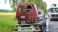 Do drugiego zdarzenia drogowego doszło dzisiaj pod Niemstowem.