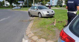 Wyjechał przed BMW