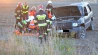 Dopiero o świcie w polu pod Ciechłowicami (gm. Rudna) zauważono rozbity samochód. Jego kierowca przeżył dachowanie, […]