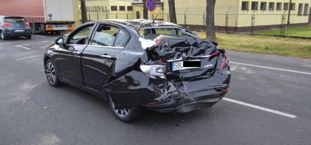 Długo nie nacieszyli nowym fiatem tipo. W Lubinie na tył ich pojazdu najechała ciężarowa scania.