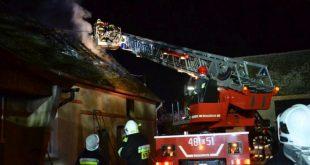 Pożar w Orsku