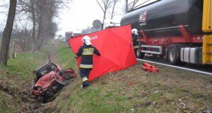Śmiertelny wypadek w Gogołowicach