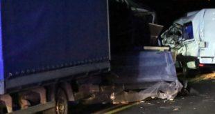 Śmiertelny wypadek w kierunku Polkowic [FOTO]