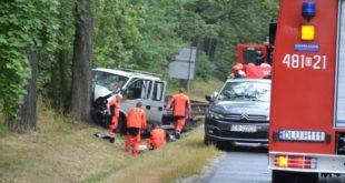 Śmiertelny wypadek na DK3 w Lubinie